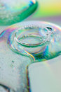 Abstract bubble bath in ring shape Stock Images