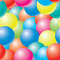 Abstract bubbles background. Royalty Free Stock Photo