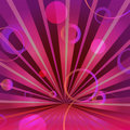 Abstract burgundy background with circles and Royalty Free Stock Photo
