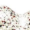 Abstraktní obchod mozaika dlaždice