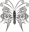Abstract Butterfly vector Royalty Free Stock Photos