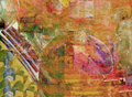 Abstract on canvas nice image of an original oil painting Royalty Free Stock Photo