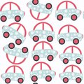 Abstract car child seamless pattern. It is located in swatch men