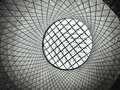 Abstract ceiling with grid