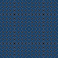 Abstract celestial blue seamless pattern. Skiey background.