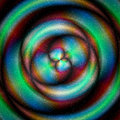 Abstract Celestial Object With...