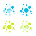 Abstract Cell Set Royalty Free Stock Images