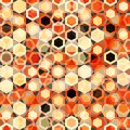 Abstract cells seamless texture Royalty Free Stock Image