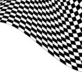 Abstract checkered design Royalty Free Stock Photos