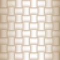 Abstract checkered geometric seamless texture beige tiles square background Stock Photography