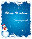 Abstract christmas background Royalty Free Stock Image