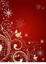 Abstract christmas background illustration suits well for design Royalty Free Stock Photo