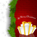 Abstract Christmas Background Vector Illustration Stock Photos