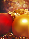 Abstract christmas backgrounds with beauty lights and bokeh Royalty Free Stock Image