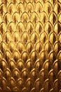 Abstract Christmas Gold Metal ...