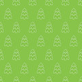 Abstract christmas tree seamless pattern Royalty Free Stock Photo