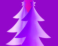 Abstract Christmas trees Royalty Free Stock Images