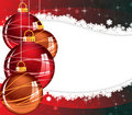 Abstract Christmas wavy snow background Stock Photo