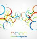Abstract circle background Royalty Free Stock Image