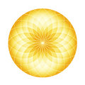 Abstract Circle - Golden Fractals Stock Photography
