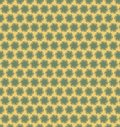 Abstract circle green yellow pattern wallpaper Royalty Free Stock Photo