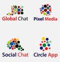 Abstract Circle Logo Royalty Free Stock Photo