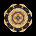 Abstract circle ornament