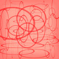 Abstract circle red background design Royalty Free Stock Photos