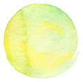 Abstract circle watercolor painted background textured Royalty Free Stock Photos