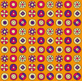 Abstract circles pattern Royalty Free Stock Photo