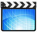 Abstract clapper board Royalty Free Stock Photography