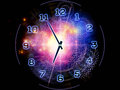Abstract clock background Royalty Free Stock Image