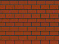 Abstract close-up red brick wall background Royalty Free Stock Image