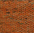 Abstract close up red brick wall background at chonburi thailand Royalty Free Stock Images
