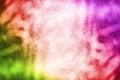 Abstract Closeup White Spray P...
