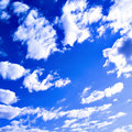 Abstract clouds in the blue sky Royalty Free Stock Photo