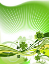 Abstract clover background Royalty Free Stock Images