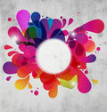 Abstract Color Burst Stock Photography