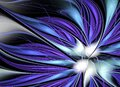 Abstract color dynamic background with lighting effect. Fractal art, spiral, flower Royalty Free Stock Photo