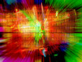 Abstract Color Explosion Stock Photography