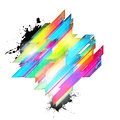 Abstract colored background Stock Photo