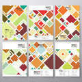 Abstract colored background, square design vector Royalty Free Stock Photo