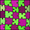 Abstract colored puzzle background Royalty Free Stock Photo