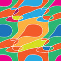 Abstract colored seamless pattern. Colored stains