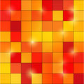 Abstract colored square pixel mosaic background Royalty Free Stock Photo