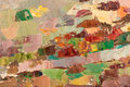 Abstract colorful background oil painting on canvas. Royalty Free Stock Photo