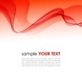 Abstract colorful background with red smoke wave Royalty Free Stock Photo