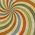 Abstract colorful background with swirl Stock Image