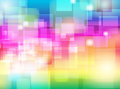 Abstract colorful blur bokeh background design vector eps of wallpaper Royalty Free Stock Photo