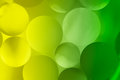 Abstract colorful bubbles closeup background Royalty Free Stock Photos